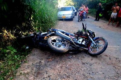 Un hombre falleció tras sufrir un accidente de tránsito en Santander