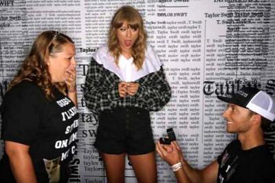 Taylor Swift fue cómplice de