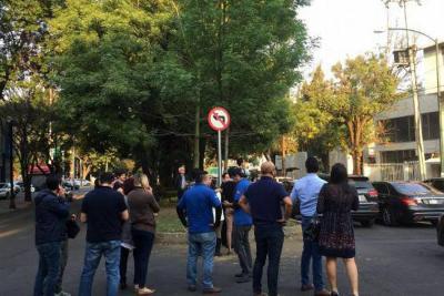 Alerta en Ciudad de México tras temblor de 5,9 grados