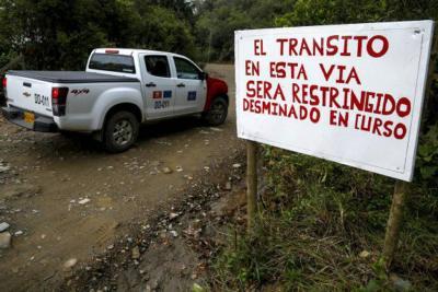 Disidentes de Farc atacan equipo de desminado humanitario en Meta