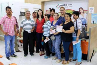 El 'Banco de Todos' distribuyó aportes financieros al sector rural