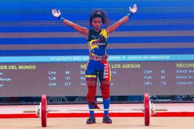 Pesas entregó dos oros más en los Juegos Centroamericanos y del Caribe para Colombia