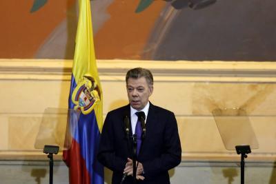 Santos exhortó al Congreso a continuar la implementación del Acuerdo de Paz
