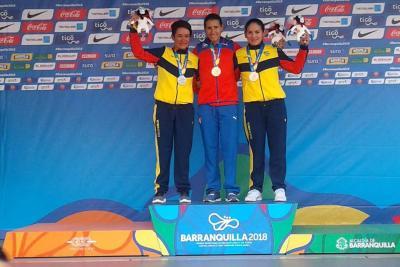 Ana Cristina se colgó una medalla de la plata en los Centroamericanos