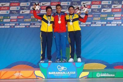 Ana Sanabria se bañó en plata en los Juegos Centroamericanos
