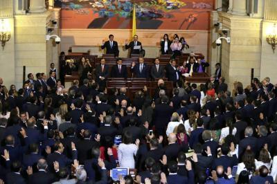 Posesión histórica de un Congreso sin precedentes