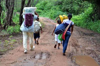 Van 744 personas desplazadas en Nariño: alertó la ONU