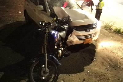 Conductor en estado de ebriedad atropelló y mató a un motociclista en Bucaramanga