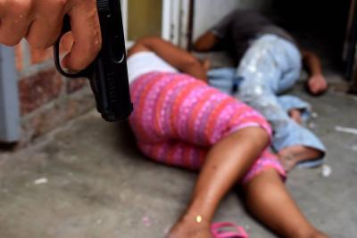 Hombre asesinó a bala a su pareja y un compadre en el sur de Bolívar