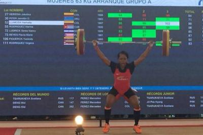 Pesas le dio dos oros más a Colombia en los Centroamericanos