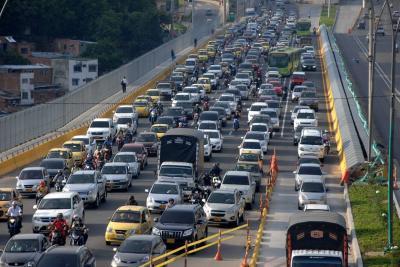 59% de la población vehicular de Bucaramanga es 'joven'