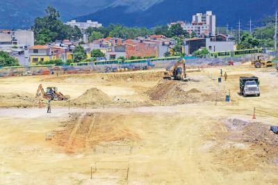 Arrancarán trabajos de cimentación del  Portal en Piedecuesta