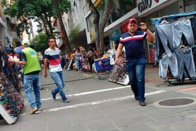 Paseo del Comercio de Bucaramanga duró solo tres meses libre de informales