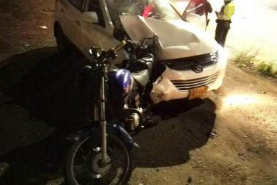Dejan en libertad a conductor ebrio que arrolló a motociclista que terminó muerto en Bucaramanga