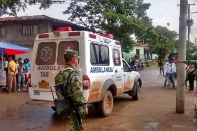 Cinco soldados heridos tras atentado del 'Clan del Golfo' en Urabá