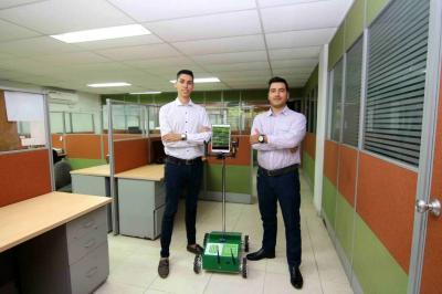 Santandereanos crean el primer robot de telepresencia del país