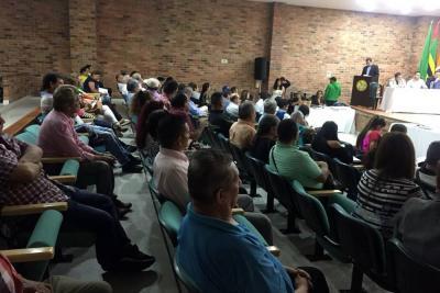 Avanza Cabildo Abierto para socialización del nuevo POT