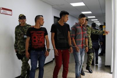 A la cárcel, presuntos guerrilleros por secuestro de comerciante en Santander