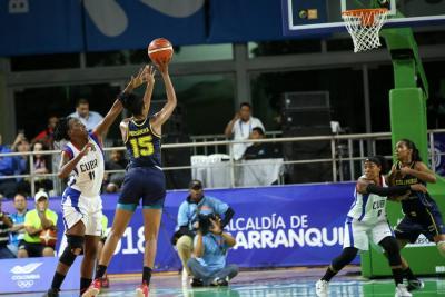 Histórico triunfo color 'oro' de Colombia en Baloncesto en Centroamericanos