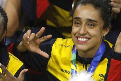Mabel Martínez, la santandereana que da brillo al baloncesto colombiano