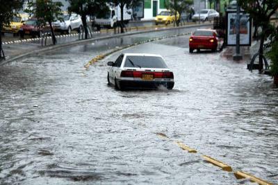 Aguacero y ventisca causaron 15 emergencias en la ciudad