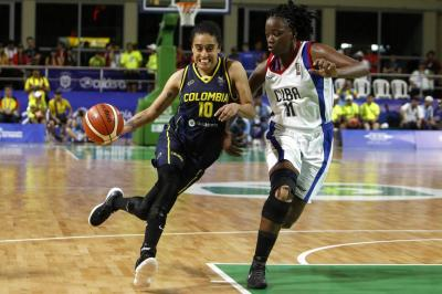 Mábel Martínez, la 'James' del baloncesto colombiano