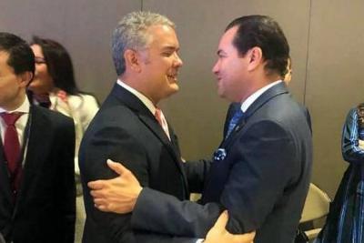Vías, regalías y PAE: los temas claves de Santander para Iván Duque