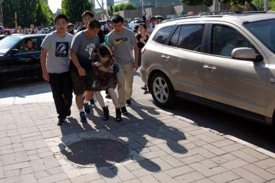 Un herido en explosión ante la embajada de EE.UU. en Pekín