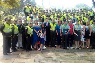 Dipro cumplió 20 años de servicio comunitario en Bucaramanga