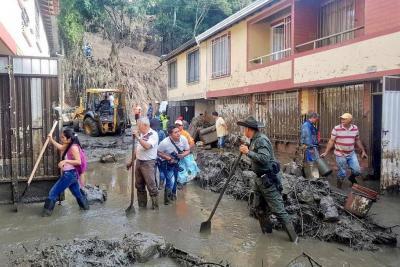 Cronología: Así ocurrió la emergencia en San Gil por lluvias