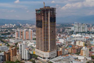 Infinity, el Sky Club de Bucaramanga culminó su estructura