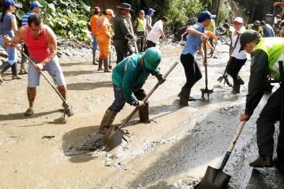 Acción comunitaria brilló en atención a los afectados