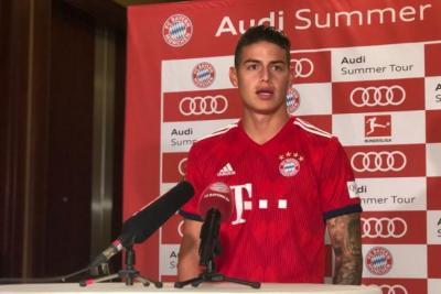 """""""Estoy feliz en Múnich, solo pienso en Bayern"""": James Rodríguez"""