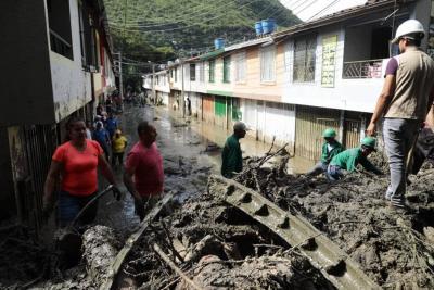 Se mantiene la alerta, pronostican más lluvias en Santander