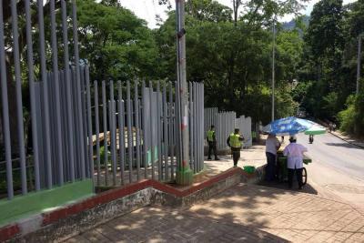 Policía ha garantizado seguridad en el Parque Artístico Paragüitas