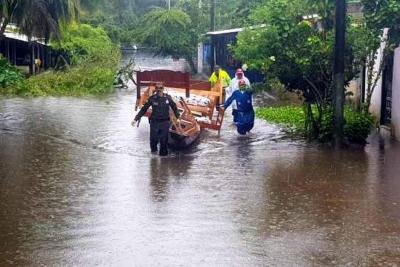 Más de 3500 familias damnificadas dejan inundaciones en Guainía