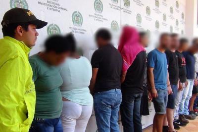 Capturan a 18 personas dedicadas a ofrecer 'turismo sexual' en Cartagena