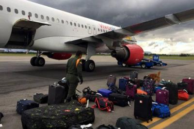Un pasajero molesto realizó una falsa amenaza de bomba en vuelo entre Bogotá y Santa Marta
