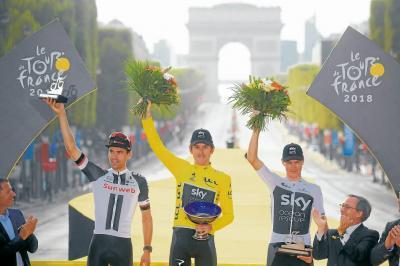 Geraint Thomas es el nuevo monarca del Tour de Francia