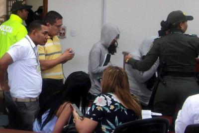Implicados en caso Aida Merlano se presentan para imputación de cargos