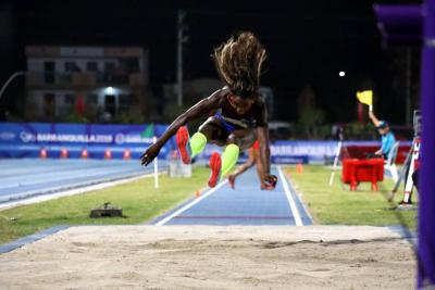 Caterine Ibargüen se colgó oro en el salto largo de los Centroamericanos