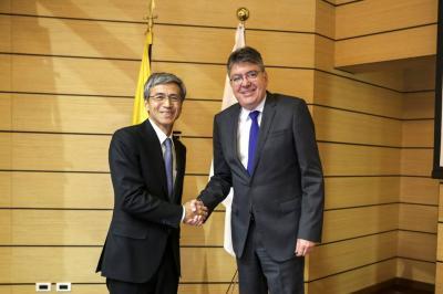 Colombia y Japón firman acuerdo para evitar doble tributación