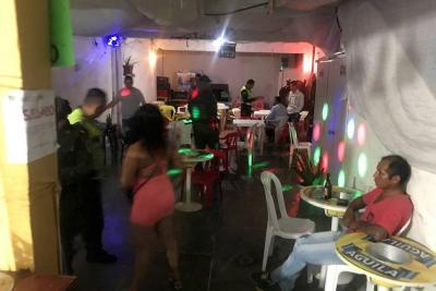 Policía selló local de lenocinio en el centro
