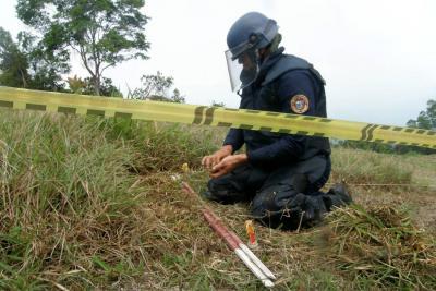 Otros dos municipios de Santander fueron declarados libres de minas antipersona