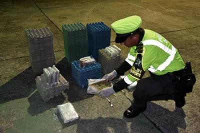Golpe al suministro de marihuana en el área metropolitana de Bucaramanga