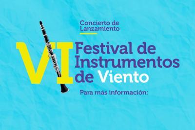 En la UNAB se realizará el VI Festival de Instrumentos de Vientos