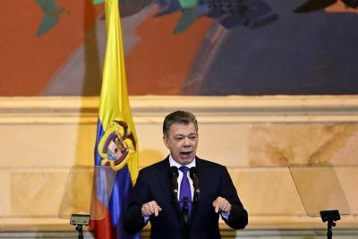 """""""La ONU pide que Duque avale protocolos de cese al fuego con el Eln"""": Santos"""