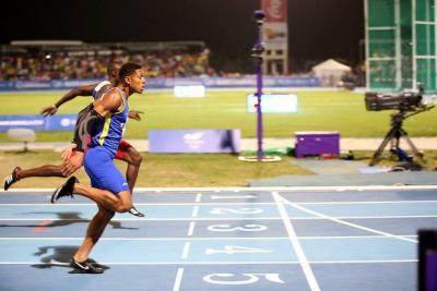 Histórico: Colombia ganó medalla de oro en los 200 metros planos