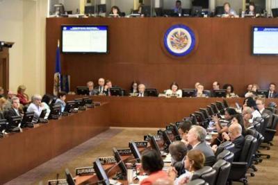 """OEA aprobó """"grupo de trabajo"""" para la crisis en Nicaragua"""
