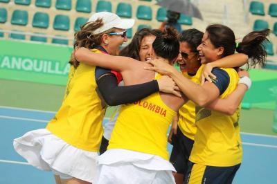 Colombia logró un triunfo histórico en el tenis femenino de los Centroamericanos